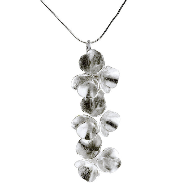 Blossoms drop necklace from the Necklaces collection at Argenteus Jewellery