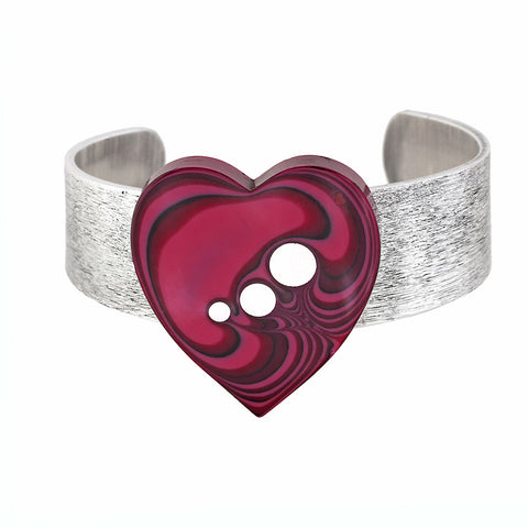 Norman Eames - Purple Heart Bangle from the Bangles collection at Argenteus Jewellery