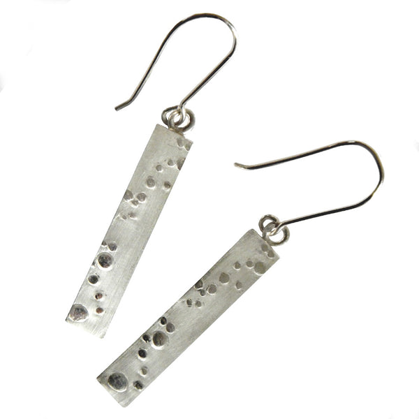 Bubbles long drop earrings from the Earrings collection at Argenteus Jewellery