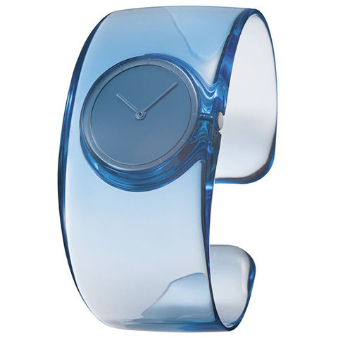 Issey Miyake 'O' Collection Light Blue Watch from the Watches collection at Argenteus Jewellery