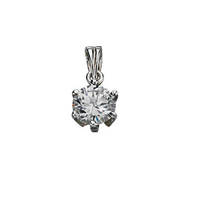 Cubic Zirconia Drop Pendant from the Pendants collection at Argenteus Jewellery