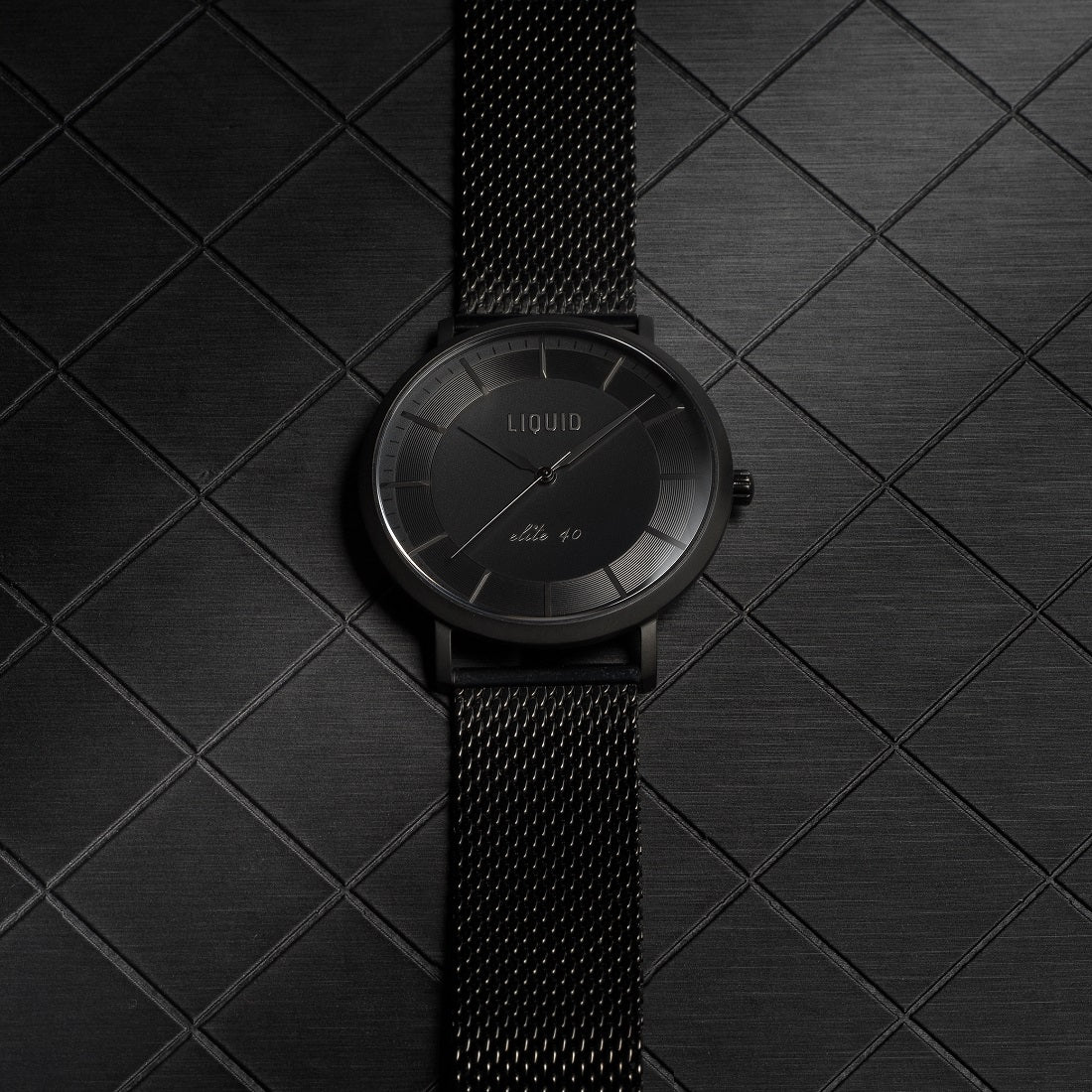 mens dress watch by Liquid Co.