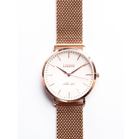 Rose Gold Mesh Band (not incl. watch)