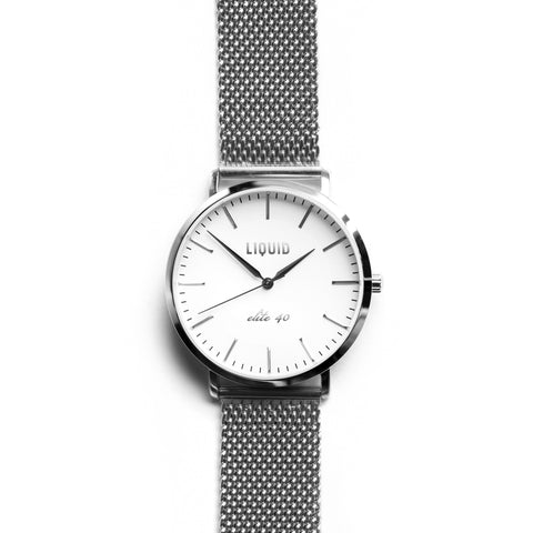 Silver Mesh Band (not incl. watch)
