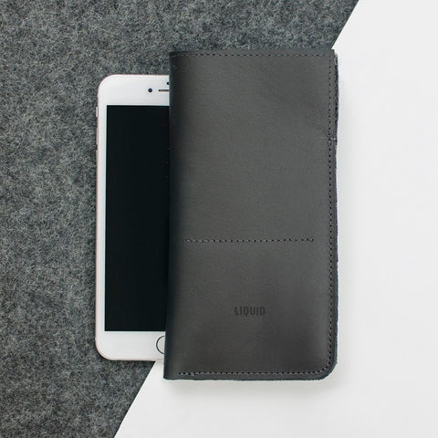 Leather Phone Sleeve for iPhone 6/6S Plus