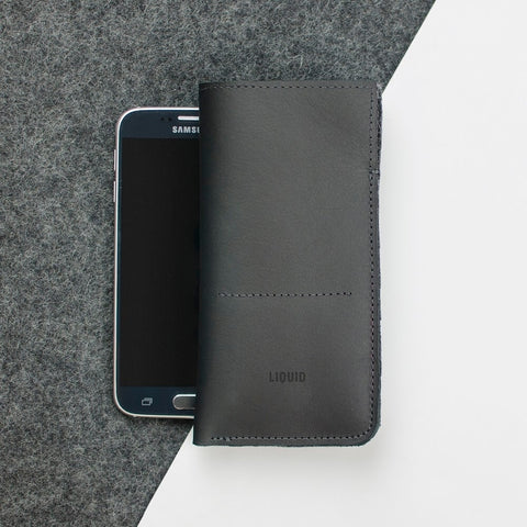 Leather Phone Sleeve for Samsung Galaxy S6/S6 Edge