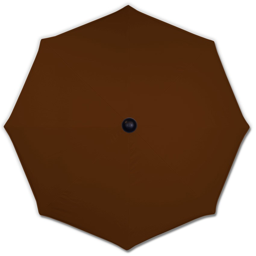 Basic Brown Canopy - Mills-Parasols.com - 2