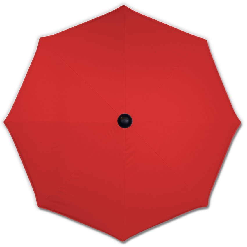 Basic Red Canopy - Mills-Parasols.com - 2