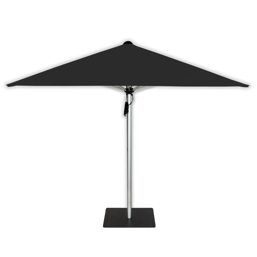 Basic Dark Grey & Double Black Base - Mills-Parasols.com - 1