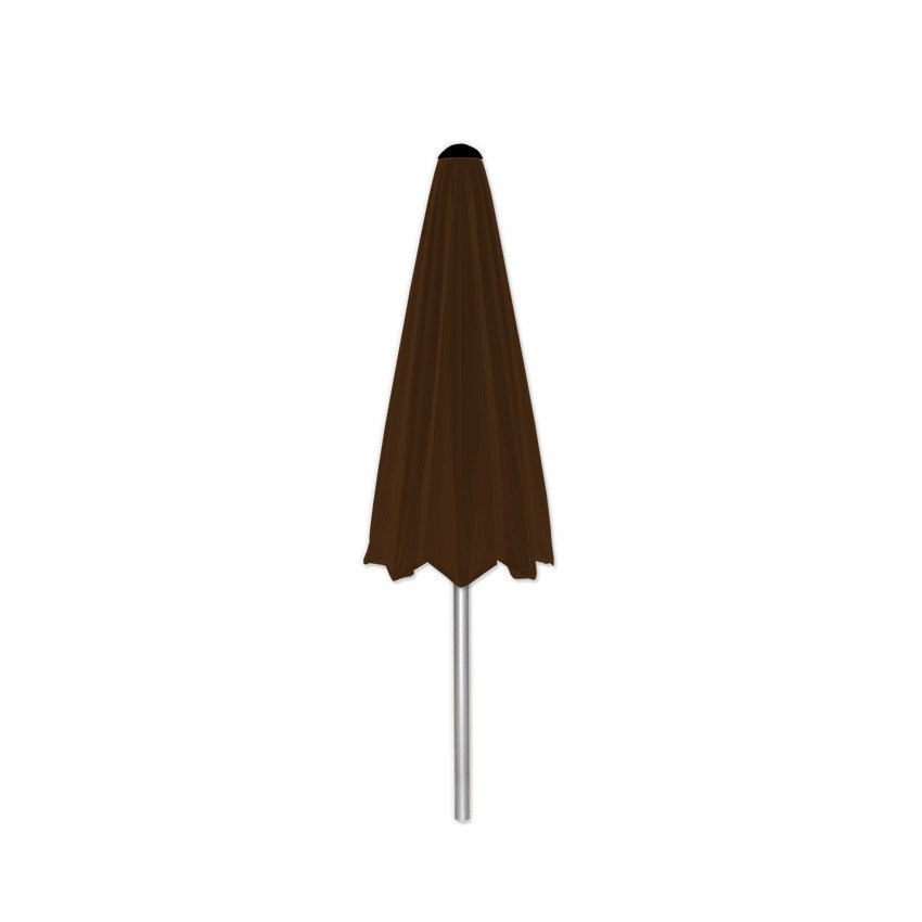 Basic Brown - Mills-Parasols.com - 4
