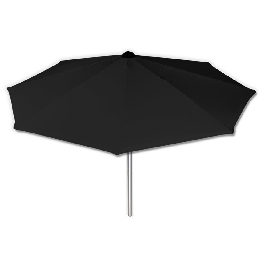 Basic Dark Grey - Mills-Parasols.com - 4