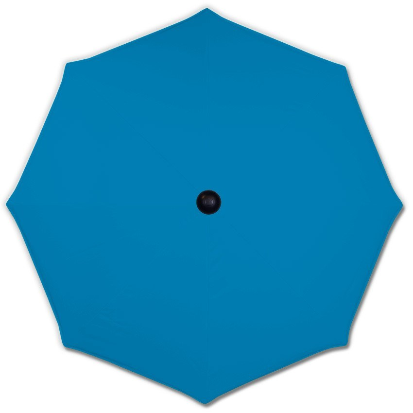 Basic Light Blue - Mills-Parasols.com - 1