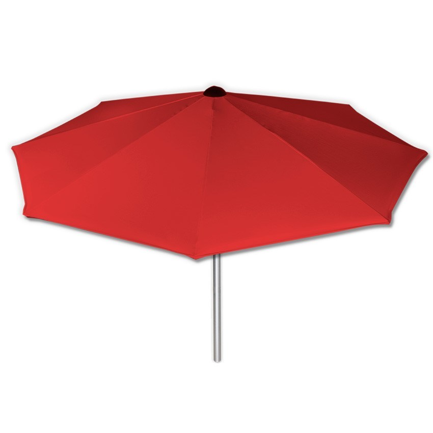 Basic Red - Mills-Parasols.com - 4