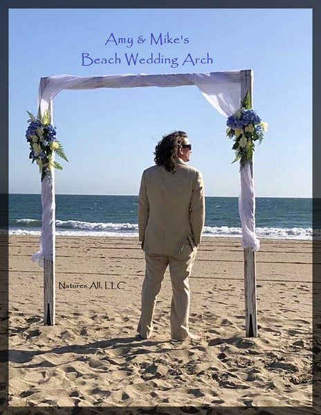 Wedding Arch/Wedding Arbor/Rustic Wedding Arch/Complete Kit/ Indoors Or Outdoors/Country Wedding Backdrop/Distressed White/Shipping Included