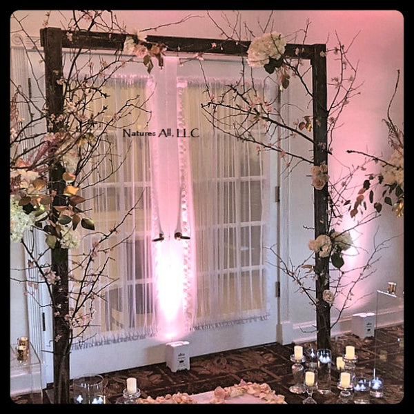 Wedding Arch/Wedding Arbor! Distressed Walnut!!