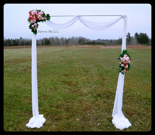 Cheesecloth Wedding Arch Scarf Hand Softened Cheesecloth Boho Arch Fabric