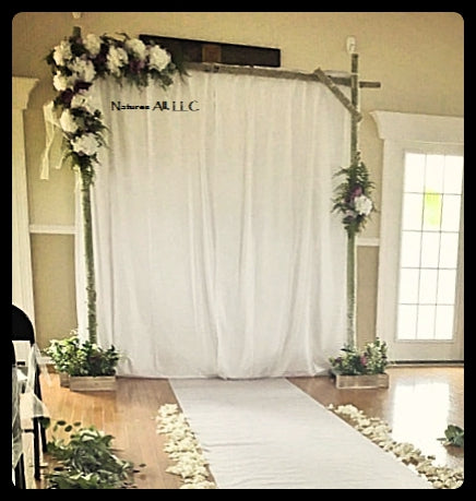 Digital Download DIY White Birch Wedding Arch Plans Build Your Own Birch Wedding Arch DIY Wedding Arbor Plans Build Your Own Wedding Arbor