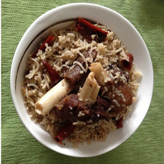 Mutton Yakhni Pulao - Serves 4 - Khud Gabbar - CookMyWish.com - 1