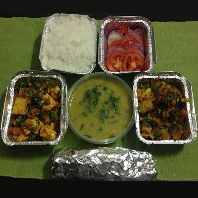 Veg Full Meal - Serves 1 - Rani's Kitchen - CookMyWish.com