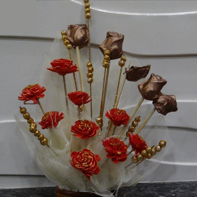 Chocolate Bouquet - Sylph Chocolates - CookMyWish.com - 1