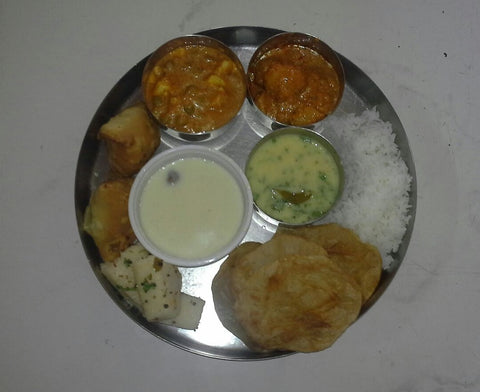 Sunday Special Gujarati Thali - Chef's Special - Hina's Swad - CookMyWish.com