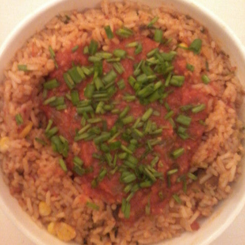 Mexican Rice  (Serves 6-8) - Vasudha's Own Kitchen - CookMyWish.com