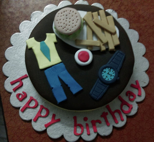 Theme based Chocolate cake - Chef's Special - Sonal's Cocoa Wonder - CookMyWish.com - 2