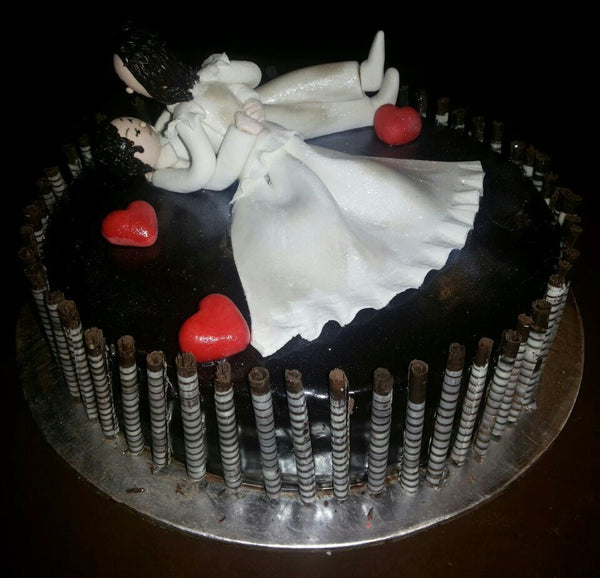 Theme based Chocolate cake - Chef's Special - Sonal's Cocoa Wonder - CookMyWish.com - 3