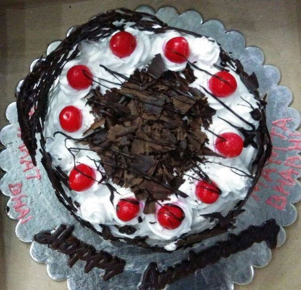 Black Forest Cake - 2 lbs - Sonal's Cocoa Wonder - CookMyWish.com - 1