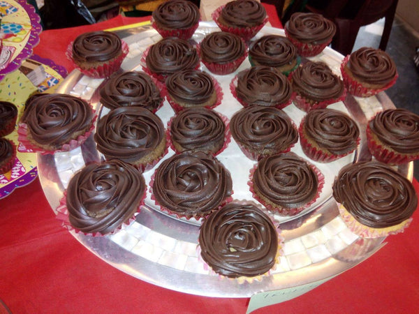 Choco chip Cupcakes with flavoured icing - Sonal's Cocoa Wonder - CookMyWish.com - 2