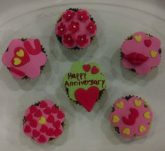Cupcakes with Theme decoration - Medium Size - Sonal's Cocoa Wonder - CookMyWish.com - 1
