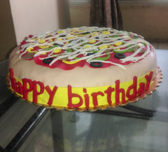 Pizza Cake - 6 lbs - Sonal's Cocoa Wonder - CookMyWish.com - 1
