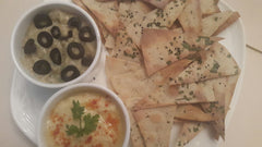 Lavash with Dips - 60 pcs - Vasudha's Own Kitchen - CookMyWish.com