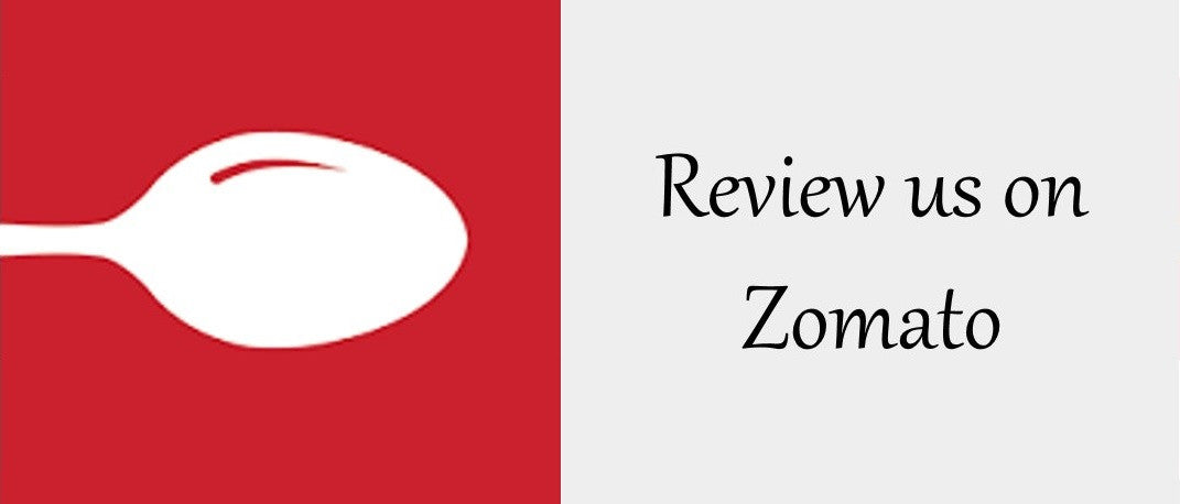 Review us on Zomato