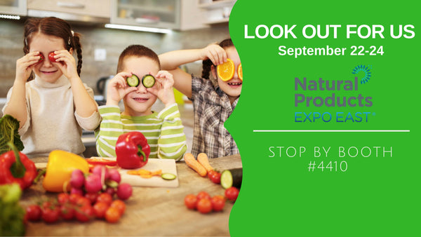Join Us at Natural Expo East on September 22-24!