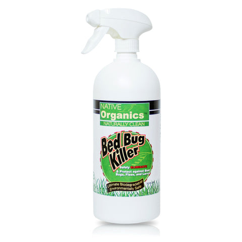 100% Natural, Non-toxic, Bed Bug Killer 32 OZ. Bottle