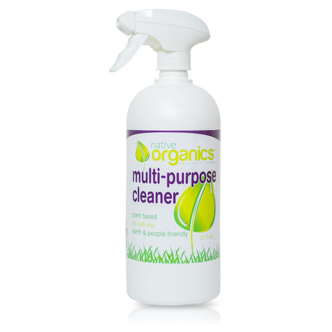 Multi-Purpose Cleaner 32 oz.- 100% Natural, Non-toxic, Child & Pet Safe