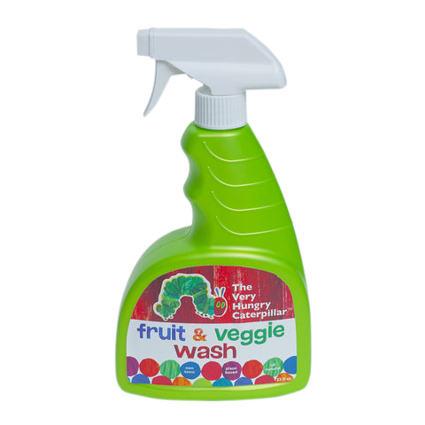 Fruit & Veggie Wash 22 oz.- 100% Natural, Plant Based Ingredients (and super cute!)