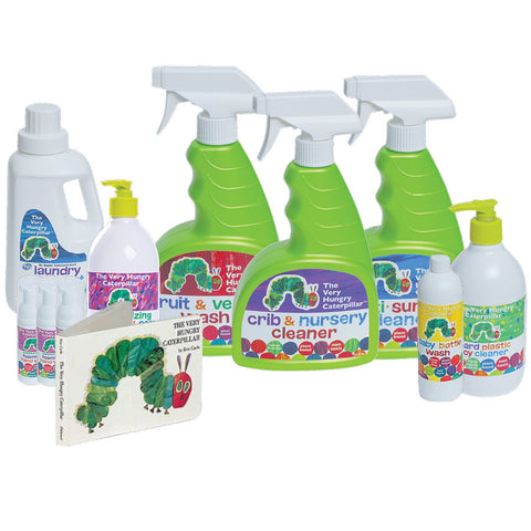 Baby Safe Cleaning Care Gift Bundle with FREE Board Book!!