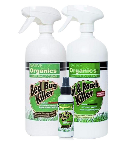 100% Non-Toxic, No-Fumes Home Pesticide Bundle