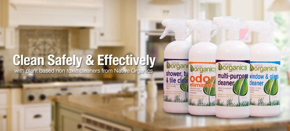 Plant-Based Non-Toxic Cleaners from Native Organics