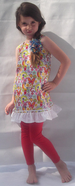 Little Miss World Peace Frilly Frock