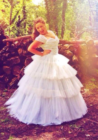 1950's Re-creation Disney Princess Style Wedding Dress