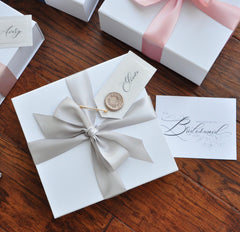 Bridal Party Gift Bags and Boxes