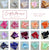 Glitter Silver 2021 Graduation Cupcake Toppers with Black Bows. Made in 1-3 Business Days. Graduation Party Decor (1 Pack of 12 Toppers)