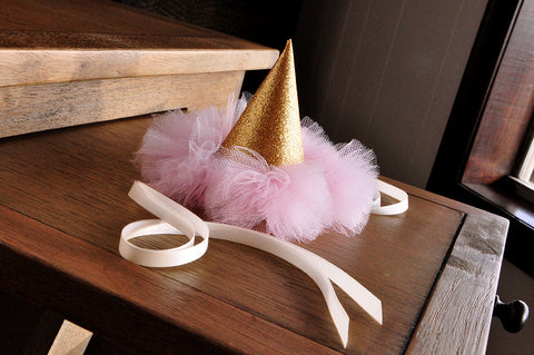 c160e14e46e Pink  1st Birthday Hat. Pink and Gold Birthday Party Decoration. Smash Cake  Outfit.