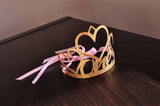 1st Birthday Crown. Handcrafted in 1-3 Business Days. Pink and Gold First Birthday Party Decoration. One Crown.