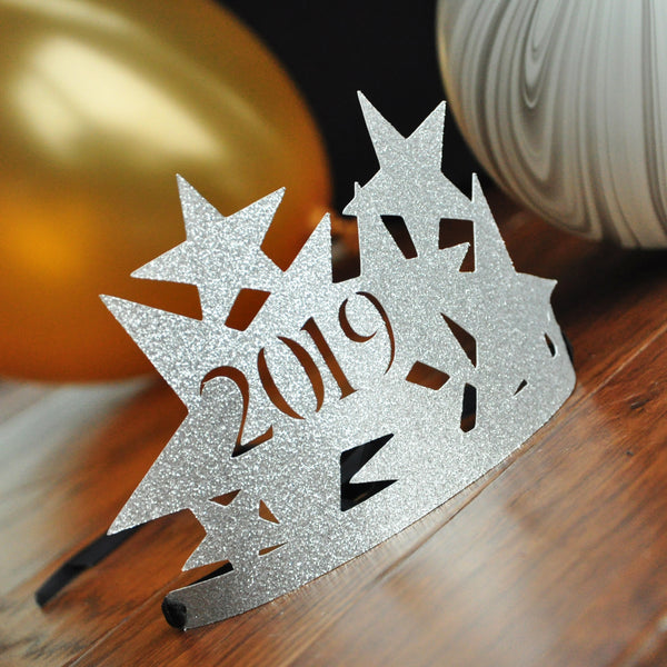 New Years Eve Hats 2021 in Silver. Handcrafted in 1-3 ...