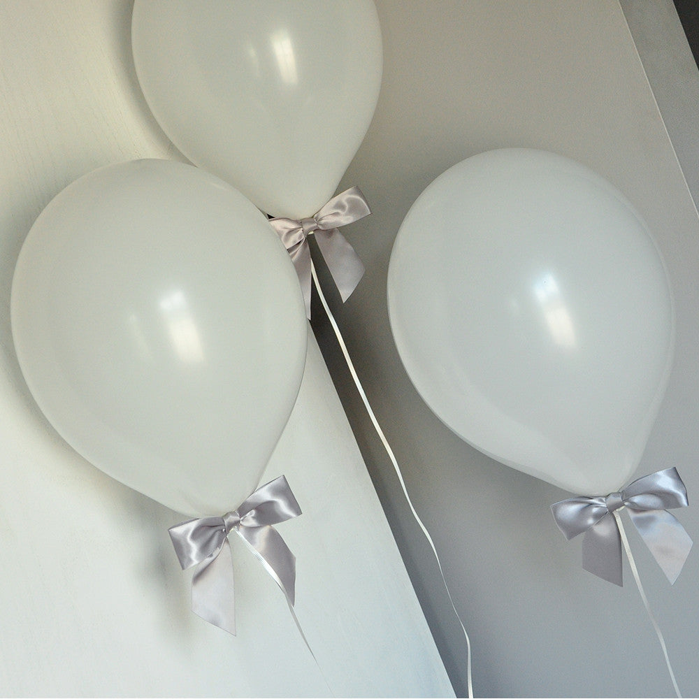 40th Birthday Decorations Ships in 13 Business Days White