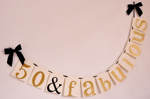50th Birthday Decoration Ships In 1 3 Business Days 50